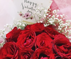 flowers, valentine, and love image