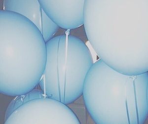 aesthetic, balloons, and grunge image
