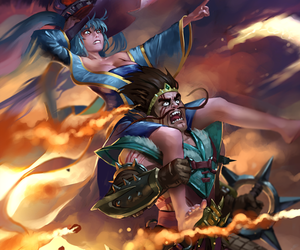 sona and draven image