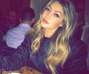 gigi hadid, blonde, and icon image