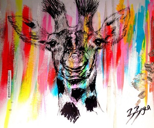 art, black, and colorful image