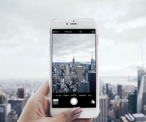 iphone, city, and new york image