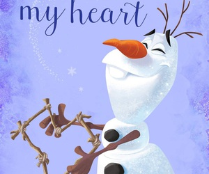 olaf, wallpaper, and disney image
