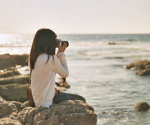 girl, photography, and camera image