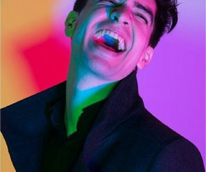 brendon urie, colors, and laugh image