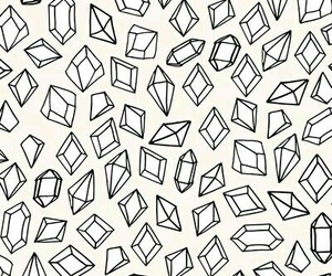 diamond, wallpaper, and pattern image