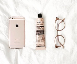 glasses, hipster, and iphone image