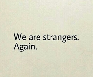 quote, strangers, and love image