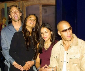 Vin Diesel, fast and furious, and michelle rodriguez image