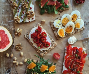 eggs, food, and healthy image