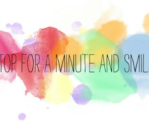 smile, quotes, and stop image