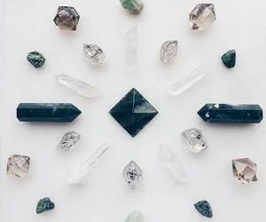 crystal, boho, and mineral image