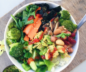 dinner, food, and healthy image