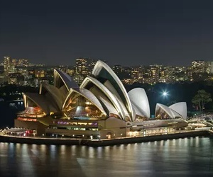 Sydney, australia, and night image