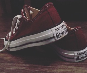 burgundy, converse, and filter image