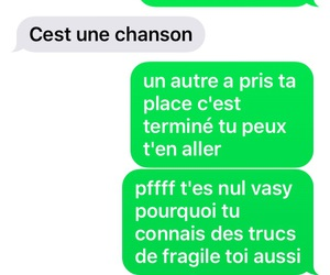 amour, chanson, and sms image
