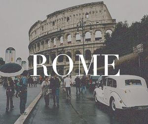 rome, italy, and wallpaper image