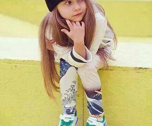 girl, swag, and skate image