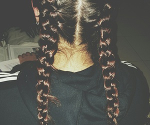 braids, hair, and love this image