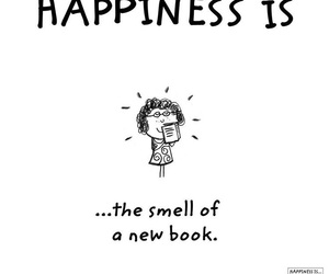 happiness, book, and happy image