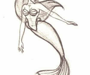 ariel, character design, and disney image