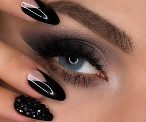makeup and nail art image