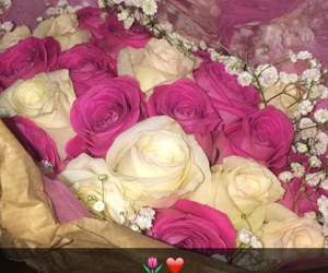 couples, goals, and roses image