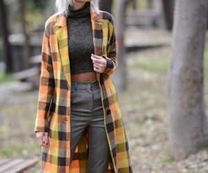 chic, model, and fashion image