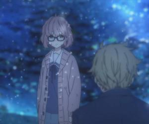 kyoukai no kanata, akihito kanbara, and beyond the boundary image