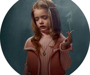 smoke, cigarette, and child image