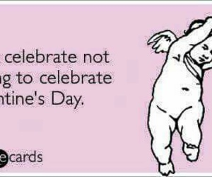 anti- valentine's day image