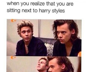 one direction, Harry Styles, and funny image