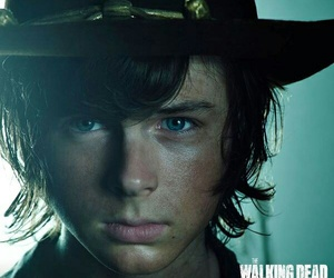 the walking dead, chandler riggs, and carl image