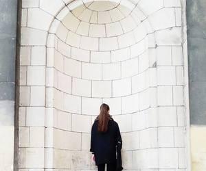 architecture, bricks, and girl image