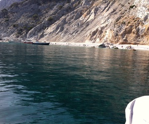 crystal clear waters and our visit in skiathos image