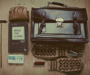 vintage, bag, and hipster image