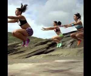 fitness, music, and running shoes image