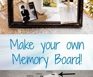 board, diy, and memory image