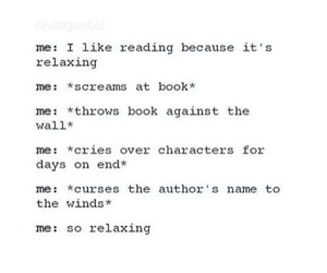 books, funny, and true image