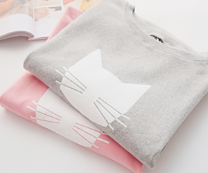 cat, fashion, and cute image