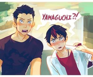 anime, hq!!, and tanaka ryuunosuke image