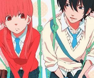 anime, my little monster, and tonari no kaibutsu-kun image