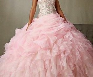dresses, rosa, and vestidos image