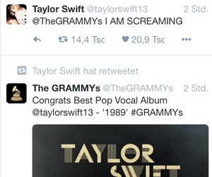 1989, grammy, and proud image