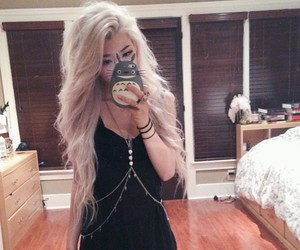 alternative, blonde, and dyed hair image