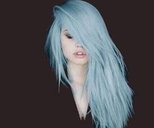 alternative, pastel blue, and blue image