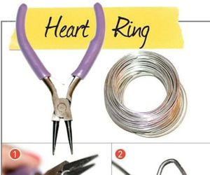 diy, ring, and heart image