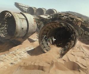 luke skywalker, star wars, and rey image
