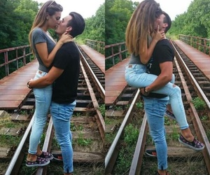 kiss, Relationship, and love image