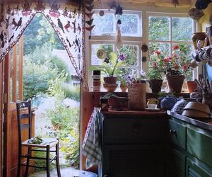 home, kitchen, and nature image